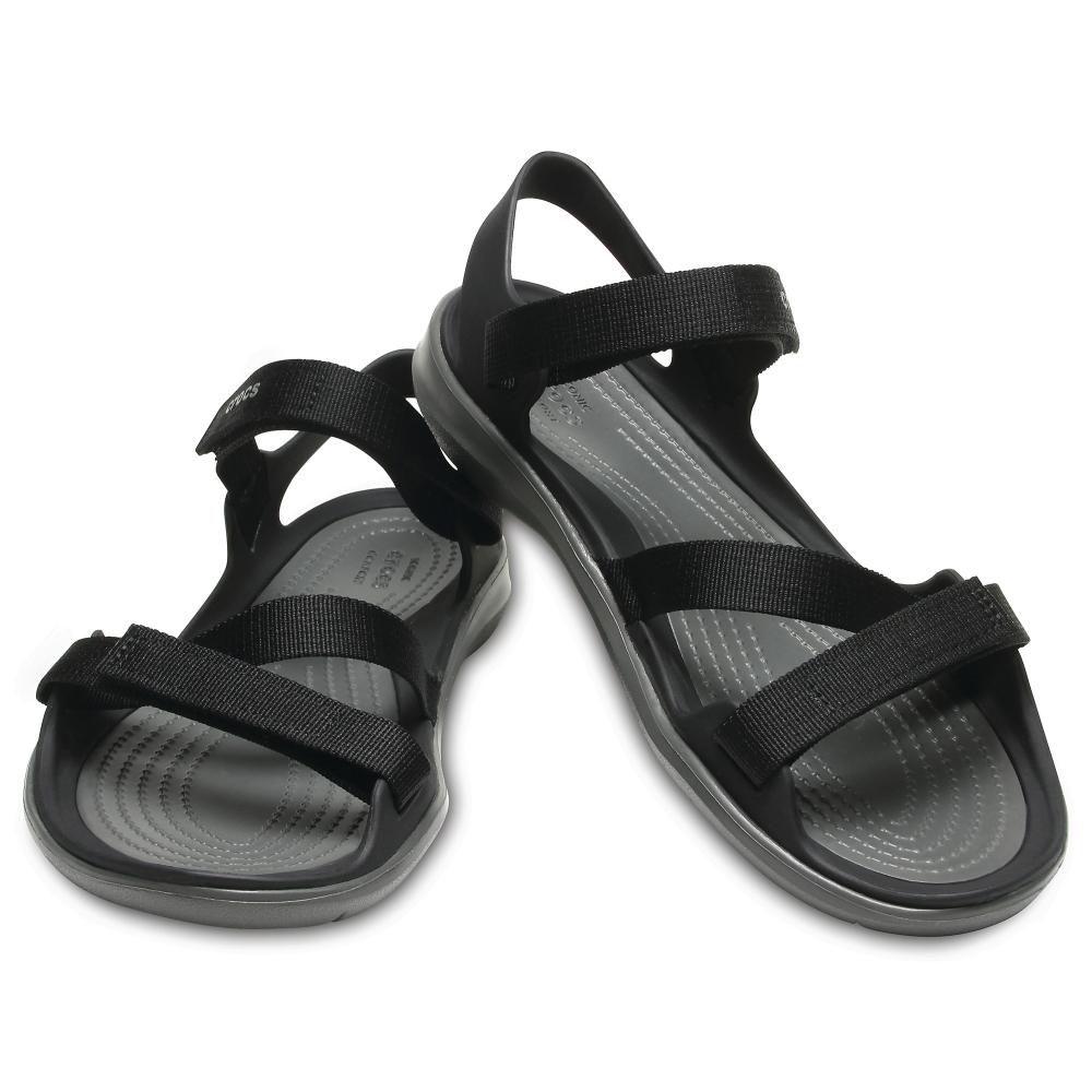 Szandál CROCS Swiftwater Webbing Sandal W 204804 Tropical