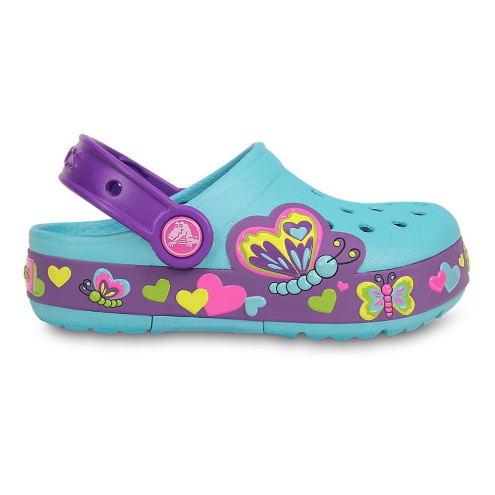 Crocs Butterfly világítós papucs - Crocs papucs 9af565d989