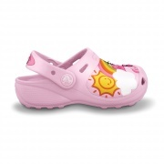 Hello Kitty Fun Rain or Sun custom clog