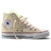 Chuck Taylor All Star High M's Natural/White