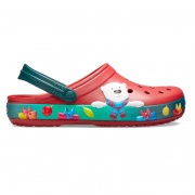 Crocband Lights Holiday Clog