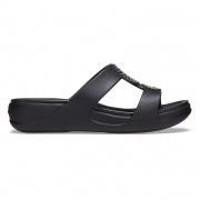 Crocs Monterey Diamante Slip-on Wedge W női papucs