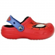 CC Spiderman lined clog